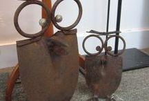 Owl Crafts / Manualidades con búhos / Cualquier cosa, trabajo manual, objeto, regalo que sea un búho. Dan suerte ¡¡