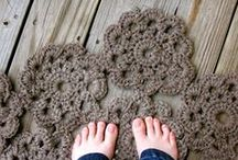 alfombras y tapetes - rugs and doilies / alfombras, tapetes, mantelitos de ganchillo - crochet rugs, doilies
