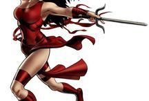Elektra / by All Super Women