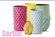 Decorative Homewares / Decorative elements for home interior decorating. Vases and decorative pieces.