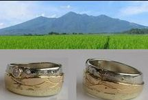 Mountain Rings Jewelry / Custom Mountain rings for your favorite mountain. Hand crafted and custom one-of-a-kind.