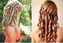 #Coiffure pour sortir / Avec votre robe longue, optez pour la coiffure idéale : idées et tutoriaux avec infographies pour que vous puissiez vous faire vous même une sublime coiffure