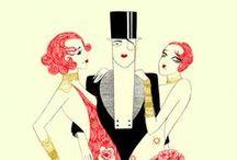 Vintage / 20-60 lukujen muotia, tyyliä, hiuksia jne. 20s, 30s, 40s, 50s, 60s, vintage, ard deco