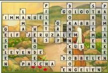 Pasen kruiswoordpuzzels