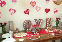 Galentine's Day Brunch / A sweetly themed brunch that's all about the ladies.