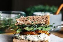 Sandwiches healthy / Healthy vegan and vegetarian Sandwiches, easy, delicious. For Lunch, for Dinner, for health.