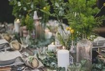 A Summer Supper Party / My love letter to the summer season. A small, intimate sit down dinner party in our backyard. Garden party with a bohemian aesthetic.