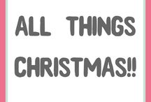 All things Christmas! / All things Christmas! A fun and Christmassy board to scroll through to get you in that festive mood. And of course, some Christmas crafts scattered in too!