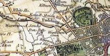 Maps / Maps to inspire my work as a professional genealogist creating custom maps for clients.