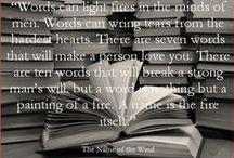 Books, books, books / Noch zu lesen oder sehr gerne gelesen.