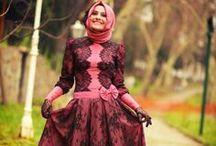 Bayan Moda Tesettür / Bayanlara özel tesettür giyim modaları