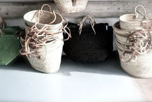 baskets, raffia and rush / by Panta Rei