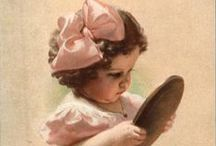 Quand j'étais petite, j'aimais... / autour de l'enfance...l'image qu'on attendait dans le chocolat, le café etc. le livre : cadeau suprême ! et mille et une bricoles...
