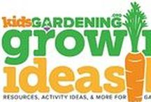 Growing Ideas Blog / Resources, activities, inspiration, and stories to encourage kids learning through the garden.  Read more at: https://www.kidsgardening.org/growing-ideas-blog/