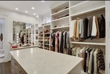 Glamorous Dressing Rooms & Closets