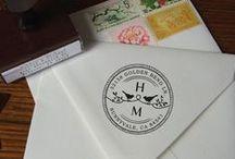 Monogram Inspiration: Stamps