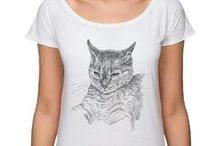 koszulki / Koszulki z grafikami i akwarelami tworzonymi przez artystów