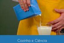 Cozinha e Ciência / O professor de física Dinho Santana explica a ligação da física com a comida e prepara receitas conhecidas de maneira bem simples