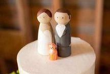Topos de Bolos / Se inspirou? Compartilhe!  Vai casar? Crie sua lista em: www.pontofrio.com/listadecasamento