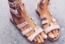 Flats | Heels | Booties |Boots / Everything footwear! I'm in LOVE with shoes, strappy sandals, booties and boots!