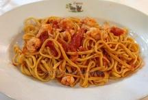 Primi piatti / I primi piatti del ristorante Checco Er Carettiere. Rome, Italy.