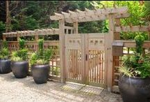 Wooden Gate & Fence / by Patricia Belyea