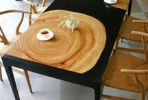 Furniture / Furniture and home decor inspirations for making home special. Wood and other matters. One of a kind or industrial products: whatever I like in furniture!