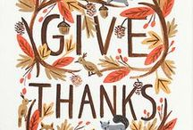 Tis the Season for Giving / It's that time of year again! Thanksgiving is around the corner, here are some quotes and ways to give thanks!
