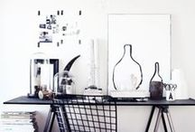 workspaces / office interior design and home office design. always dreamy and minimalistic for productive moments.