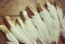 Gold/white/burlap theme party / gold, white, burlap, elegant, rustic color story, party