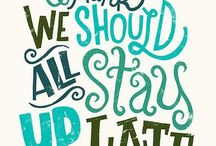 HANDLETTERING / Handlettering art. Beautiful lettering, hand lettered quotes and tips on how to handletter