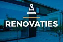 ⌂ Renovaties ⌂ / Ontdek inspirerende beelden van de mooiste renovaties, gerealiseerd door verschillende architecten.