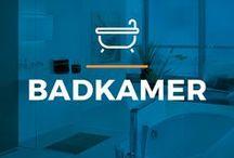 ⌂ Badkamer ⌂ / Doe hier inspiratie op voor jouw badkamer. Ontdek mooie ontwerpen, baden, douches en badkamermeubels.