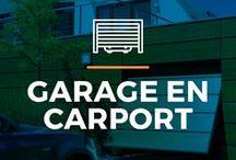 ⌂ Garage en carport ⌂ / Doe hier inspiratie op voor jouw garage of carport. Ontdek de verschillende stijlen en soorten.