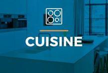 ⌂ Cuisine ⌂ / Ici tu peux trouver des idées inspirantes pour ta cuisine. Découvrez des dessins inspirantes, toutes sortes de matériaux, des appareils et des armoires.