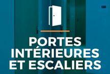 ⌂ Portes intérieures et escaliers ⌂ / Ici tu peux trouvez des idées inspirantes pour tes portes et escaliers. Découvrez différentes styles dans de beaux intérieurs.