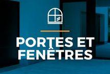 ⌂ Portes et fenêtres ⌂ / Ici tu peux trouver des idées inspirantes pour tes portes et fenêtres. Découvrez des maisons inspirantes avec différents types de portes et fenêtres en différents matériaux.