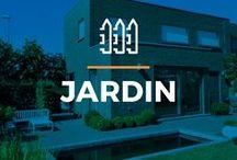 ⌂ Jardin ⌂ / Ici tu peux trouver des idées inspirantes pour ton jardin. Découvrez de belles terrasses avec bannes, des briques et des clôtures.