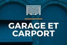 ⌂ Garage et carport ⌂ / Ici tu peux trouver des idées inspirantes pour votre garage ou carport. Découvrez les différents styles et types.