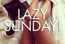 Lazy Sunday !