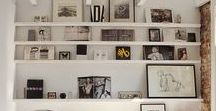 gallery walls / gallery wall inspiration, including art gallery walls, wall art, photo walls and of course, gallery wall ideas.