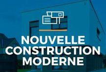 ⌂ Nouvelle construction moderne ⌂ / Ici tu peux trouver des idees inspirantes pour ta maison