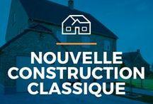 ⌂ Nouvelle construction classique ⌂ / Ici tu peux trouver des idees inspirantes pour ta maison classique