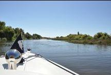 A boat trip on Tagus River (Rio-A-Dentro) / Boat trip