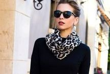 NEGRO. By Ana María. / El negro como símbolo de elegancia, sobriedad y sofisticación. También es el comodín del closet.