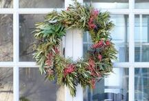 Club Botanic Wreaths / Seasonal wreaths made from fresh materials that will dry beautifully. Club Botanic wreaths are available nationwide.