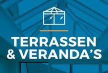 ⌂ Terrassen & Veranda's ⌂ / Fan van de zon, zowel binnen als buiten? Laat je dan zeker inspireren door deze terrassen en veranda's.