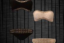 SWIMDRESS. By Ana María. / Ahora que -¡por fin! puedo usar bikini, buscaré estos hermosos diseños con tendencia punk, rockabilly y pin up. Divinos!!!