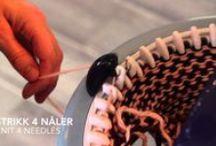 Oppskrifter til Prym Maxi strikkemølle - Prym Maxi knitting mill / Oppskrifter som er laget for en Prym Maxi strikkemølle. Oppskriftene er på norsk og engelsk. Instructions for a Prym Maxi knitting mill. They are both in Norwegian and English