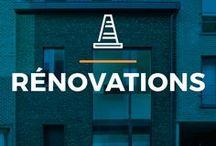 ⌂ Rénovations ⌂ / Les plus belles rénovations, effectuées par de différents architectes !